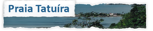 Praia Tatuíra ou Praia da Barata