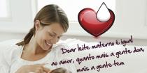 Semana Municipal de Doação de Leite Materno
