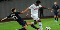 Paulinho marca seu primeiro gol pelo Tottenham em goleada na Europa League